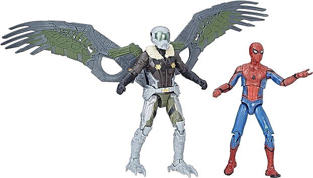 Spider-Man C1407EL20 Marvel Legends and Vulture Figure, Pack ...