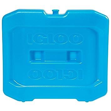 IGLOO - Nevera rígida Hielo Bloque congelador Extra Grande, Azul ...