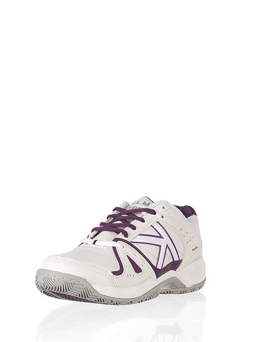KELME Zapatillas Casual Amazon Padel Blanco/Morado 35: Amazon.es ...