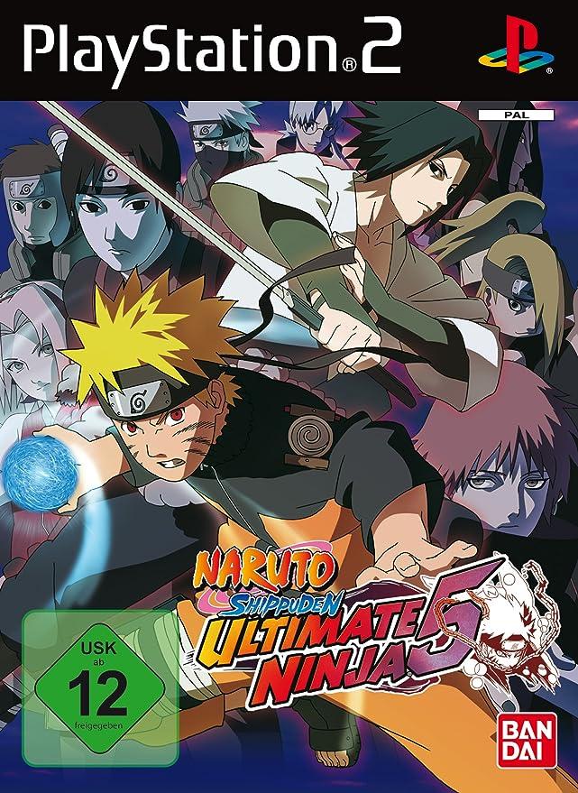 PS2 Naruto Shippuden Ultimate Ninja 5 [Importación Inglesa ...