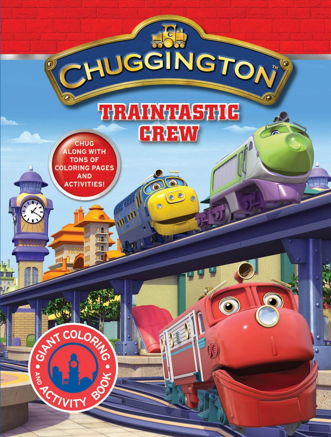 Traintastic Crew! (Chuggington): Modern Publishing ...