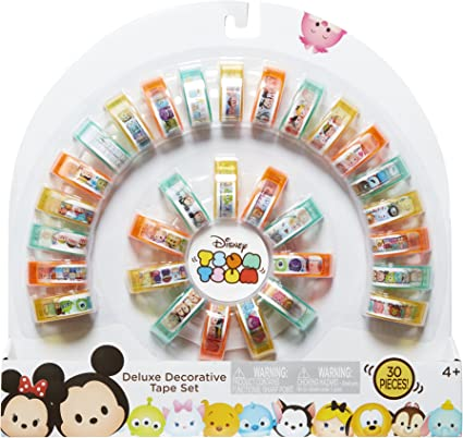 Disney Tsum Tsum30 Decorative Tapes Set with Dispensers