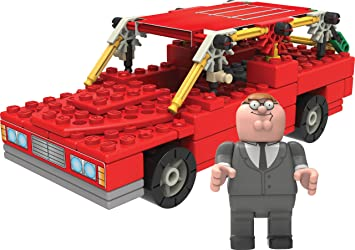 K Nex Family Guy Peter And Station Wagon Building Set