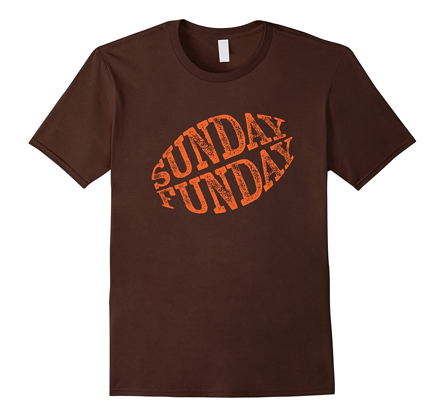 Sunday Funday Football T-Shirt - Cleveland Football Shirt-BN