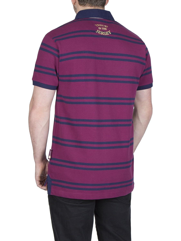 1cef2e1eaf Ellis Rugby - Mens Triple Blue Polo Shirt  Amazon.co.uk  Clothing