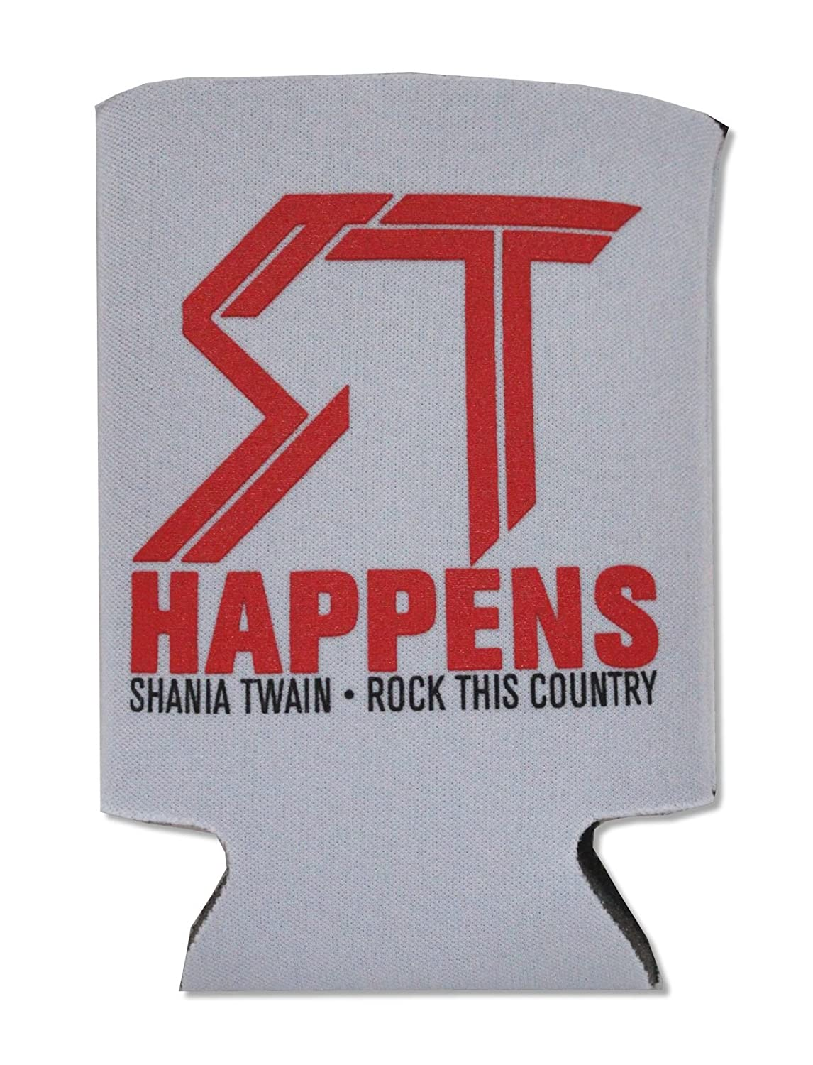 Shania Twain ST Happens Beverage Can Cooler