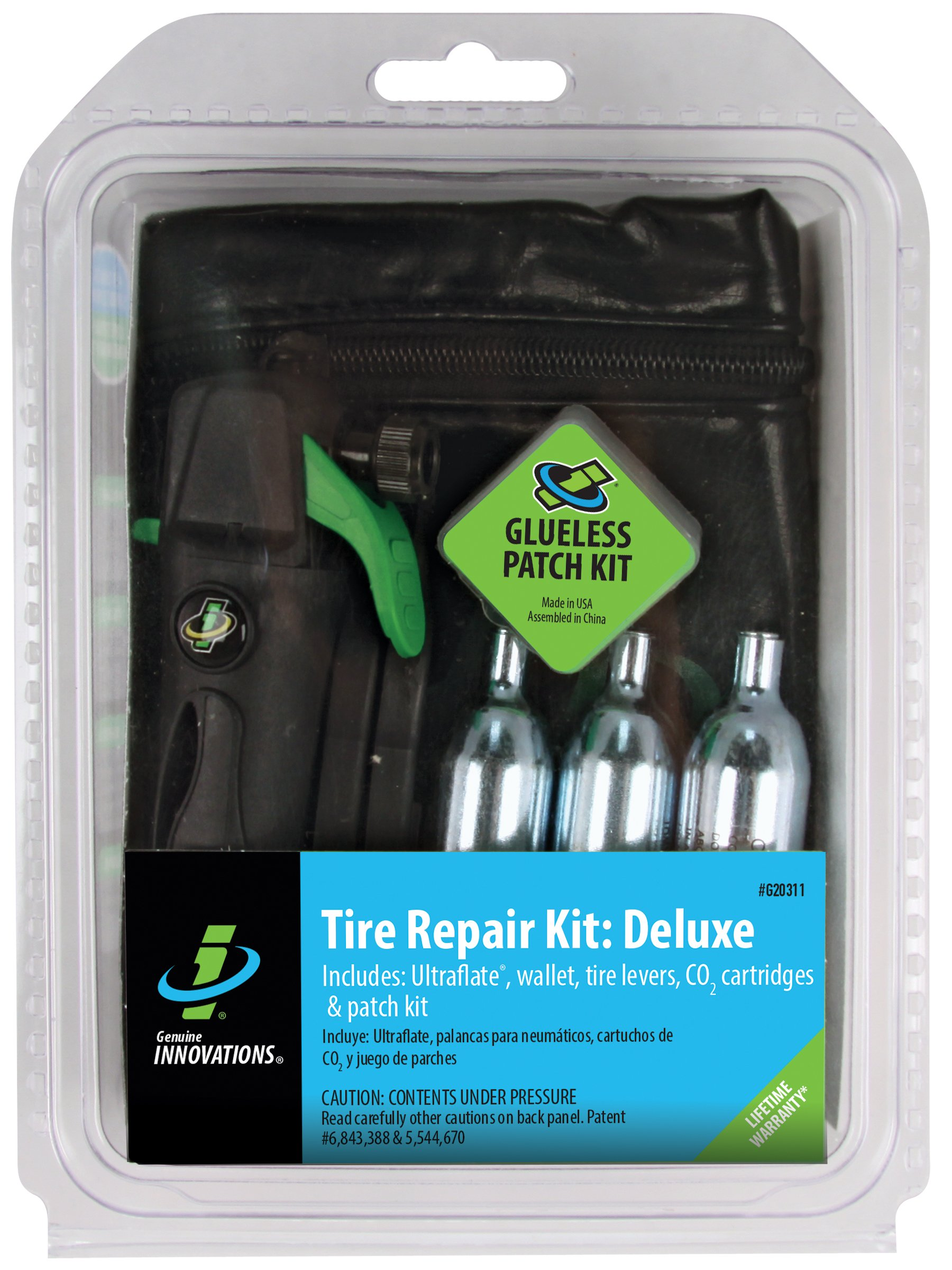 Genuine Innovations G20311 Deluxe Tire Repair and Inflation Kit