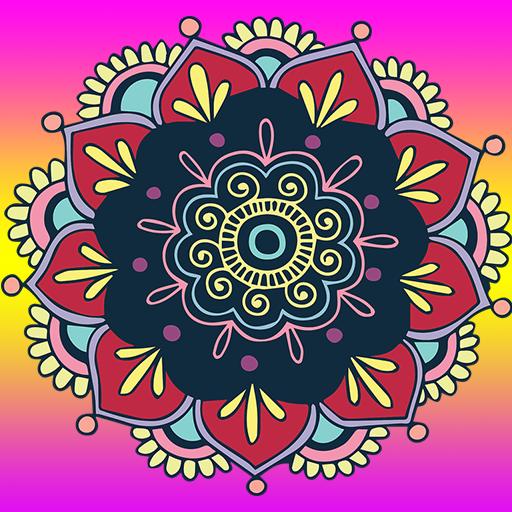 Color Mandala By Number Pixel ArtBook Fun Games For Free (Para Dibujar Juegos)