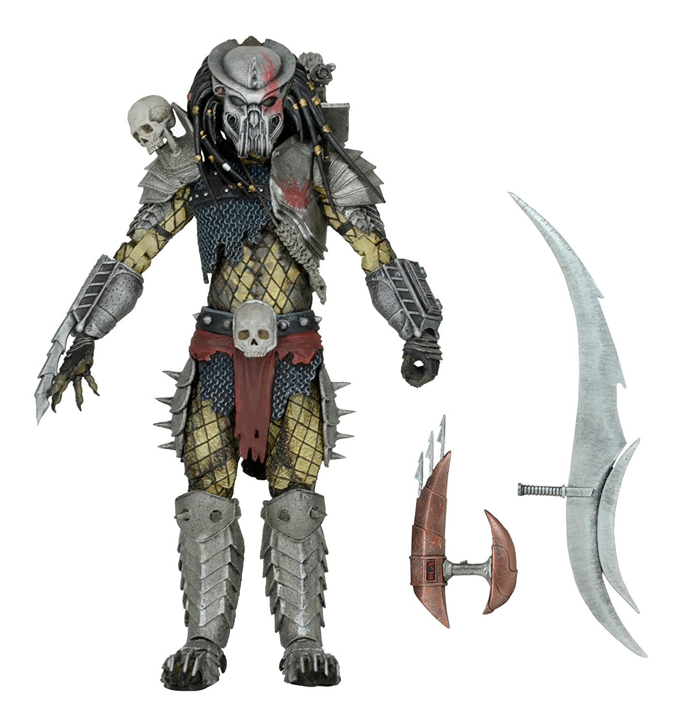 "NECA Predator - 7"" Scale Action Figure - Scarface (Video Game Appearance)"