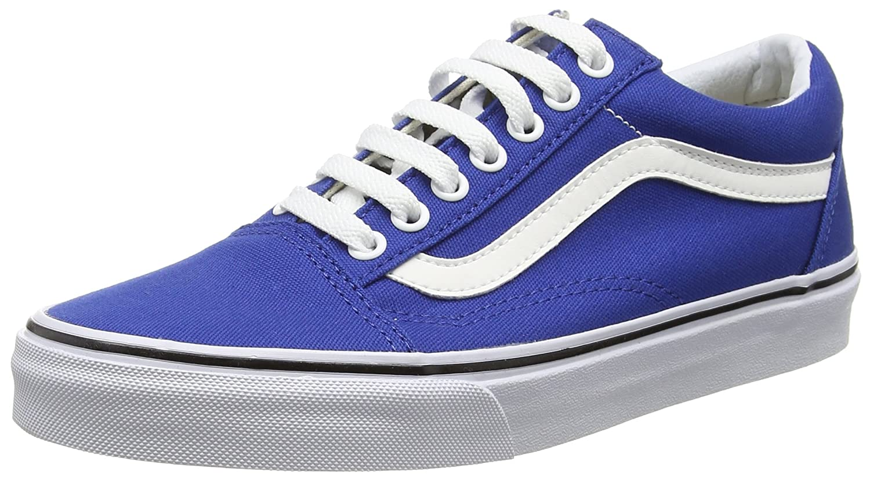 Vans Unisex Old Skool Classic Skate Shoes B017JP8QJ0 10 M US Women / 8.5 M US Men|True Blue