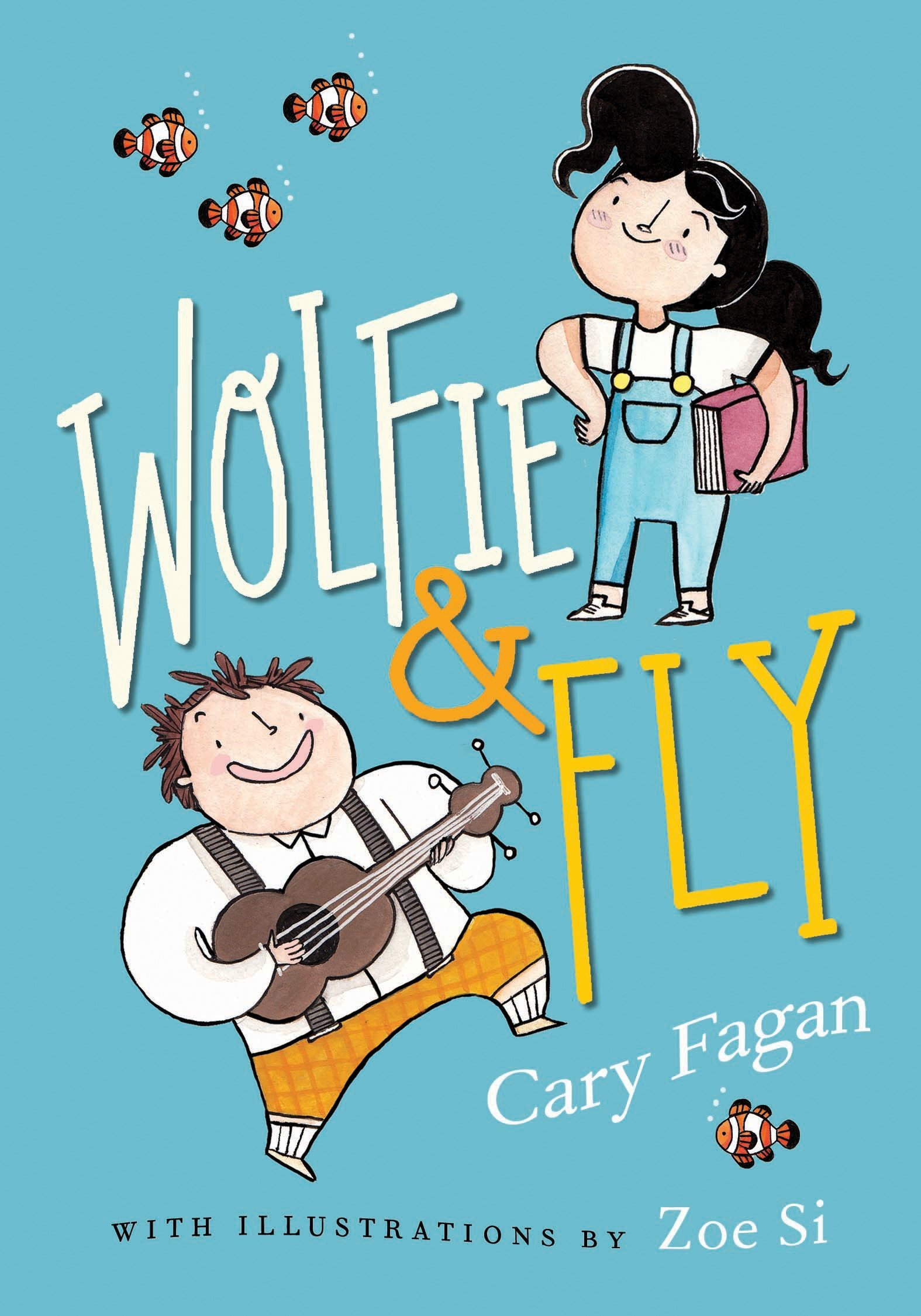 Wolfie and Fly book cover