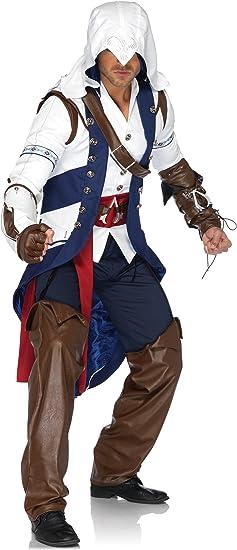 Leg Avenue Men S Assassin S Creed 5 Piece Connor Deluxe Costume