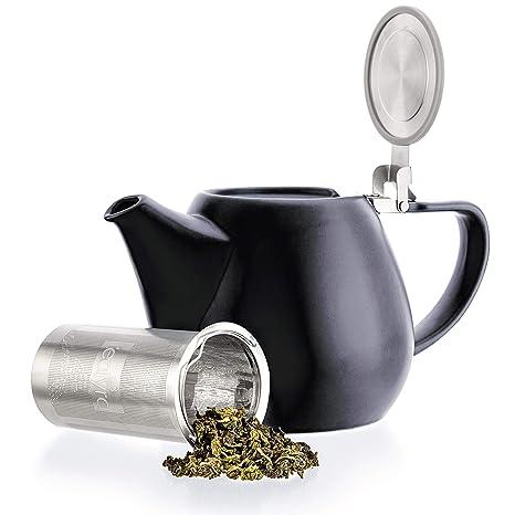 Amazon.com: Tealyra Jove - Tetera grande de porcelana ...