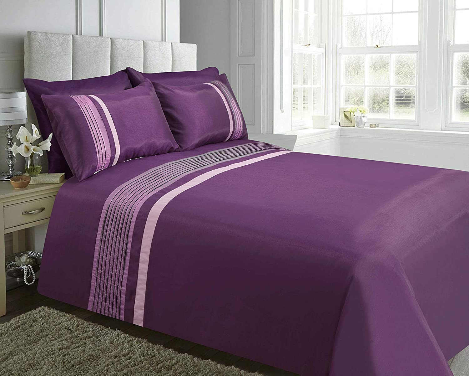 plum bedding