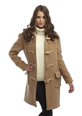 Amazon.com: Original Montgomery Womens Wooden Toggles Duffle Coat