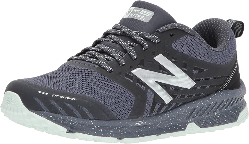 lowest price a5317 ee2fb Women's Nitrel v1 FuelCore Trail Running Shoe, Grey/Black, 7 D US