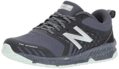 release date e6042 03048 New Balance Women s Nitrel v1 FuelCore Trail Running Shoe, Grey Black, ...