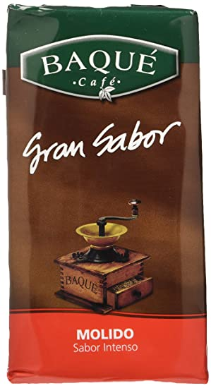 Cafés Baqué - Gran Sabor. Café Molido de Tueste Natural - 250 gr ...