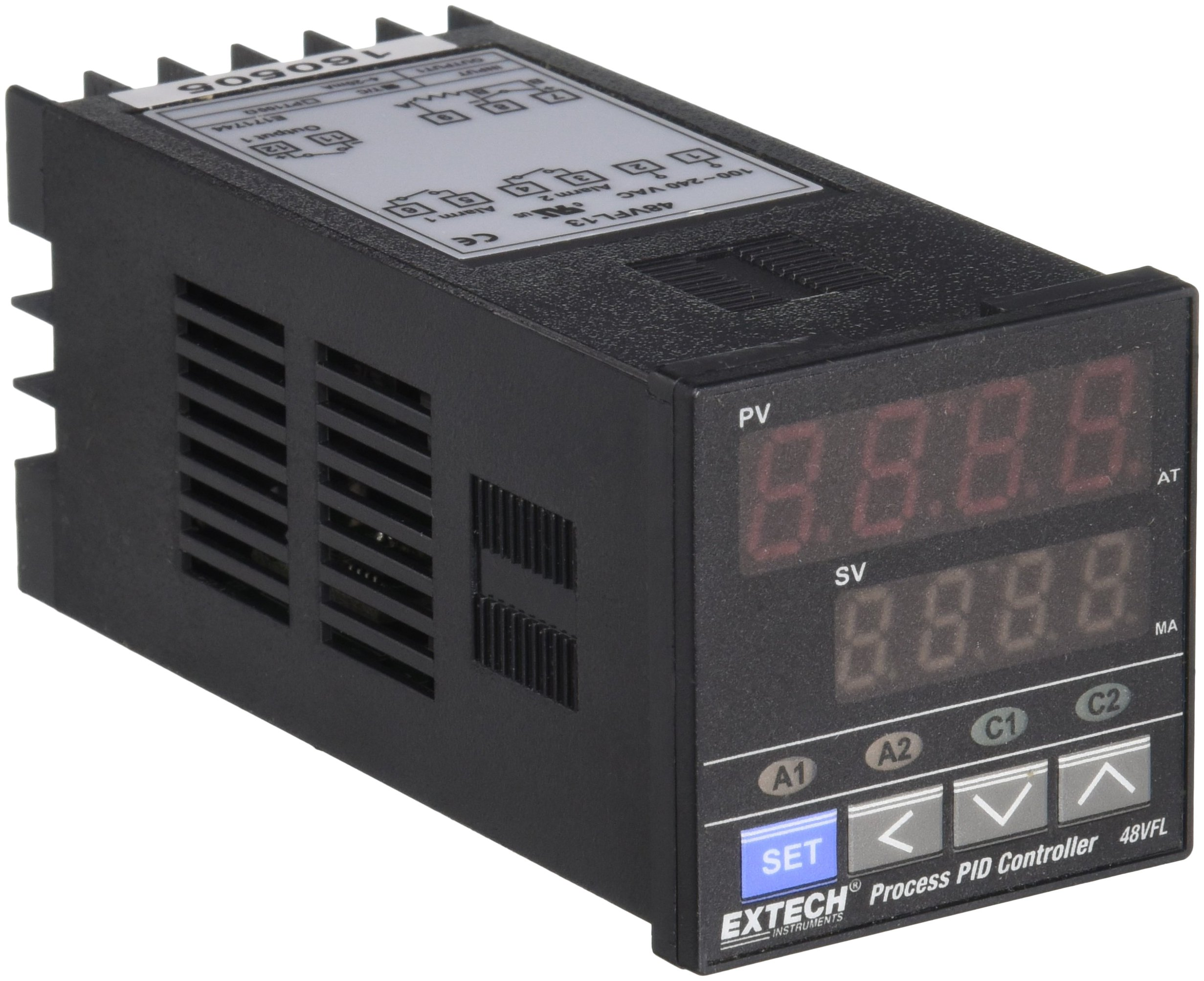 Extech 48VFL13 Temperature PID Controller 1/16 DIN with 4-20mA Output