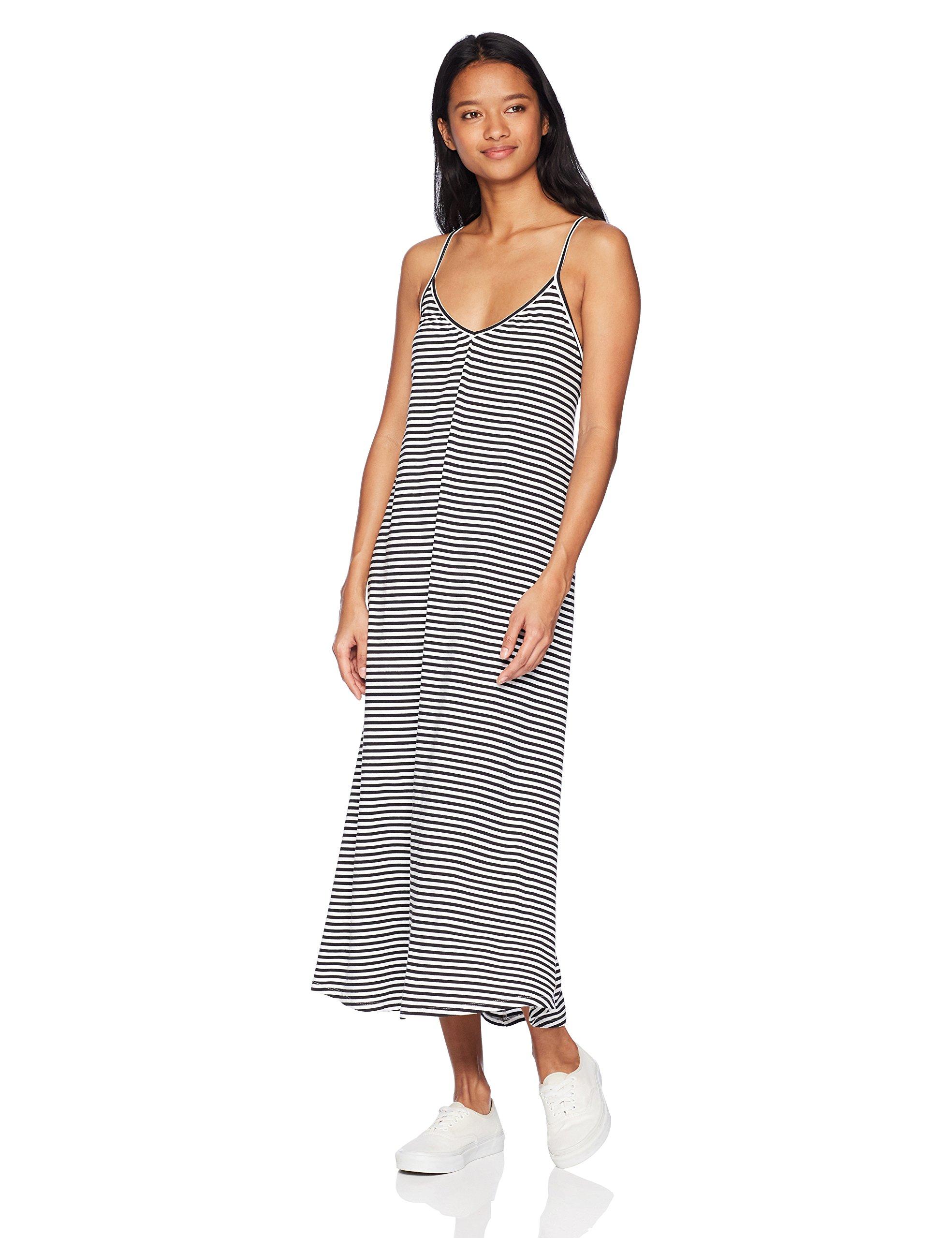 Volcom Junior's Lil V-Neck Tank Dress, White, L