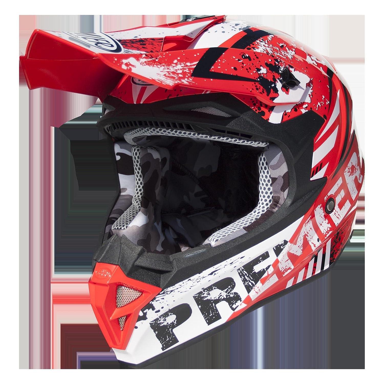 Premier APINTEXIPOLZX2000M Casco Moto, M