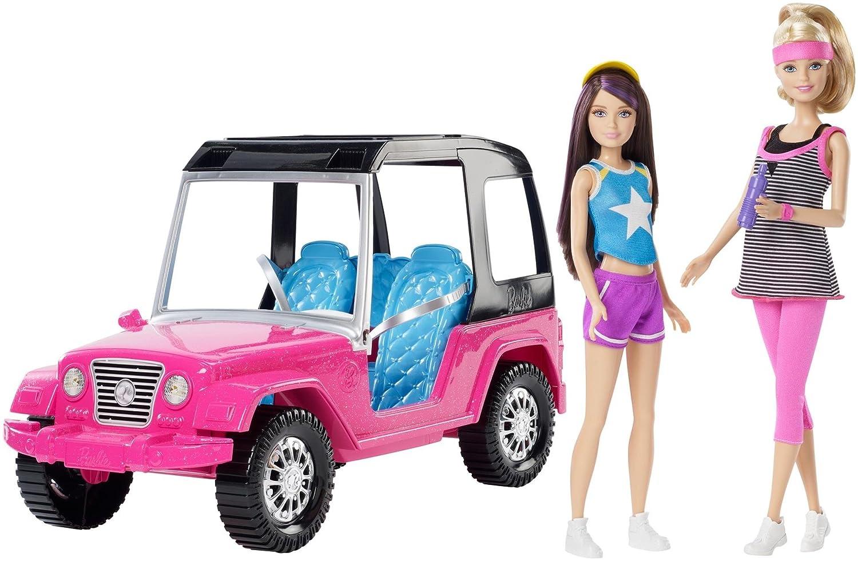 Barbie CML25 Sorelle 'momenti Hiking Adventure e Veicoli