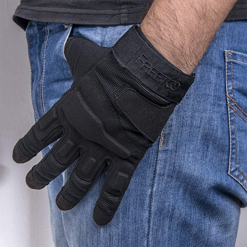 TPRANCE Tactical Gloves for Men, Full Finger Hard Knuckle Gloves for Outdoor Sports by TPRANCE (Image #7)