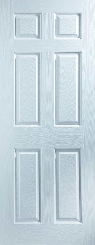 Bostonian 20BTN 6-Panel Woodgrain Moulded Internal Door JELD-WEN UK LTD