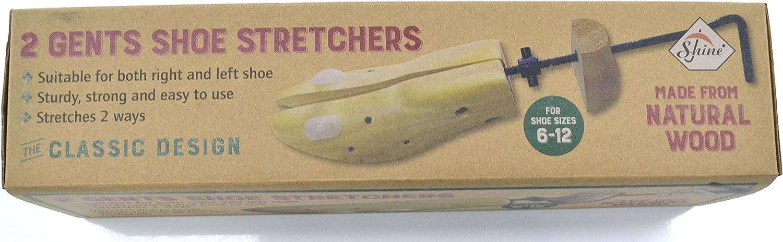 taille pour /éviter les ampoules et oignons en bois SHINE Lot de 2 /élargisseurs de chaussure pour homme