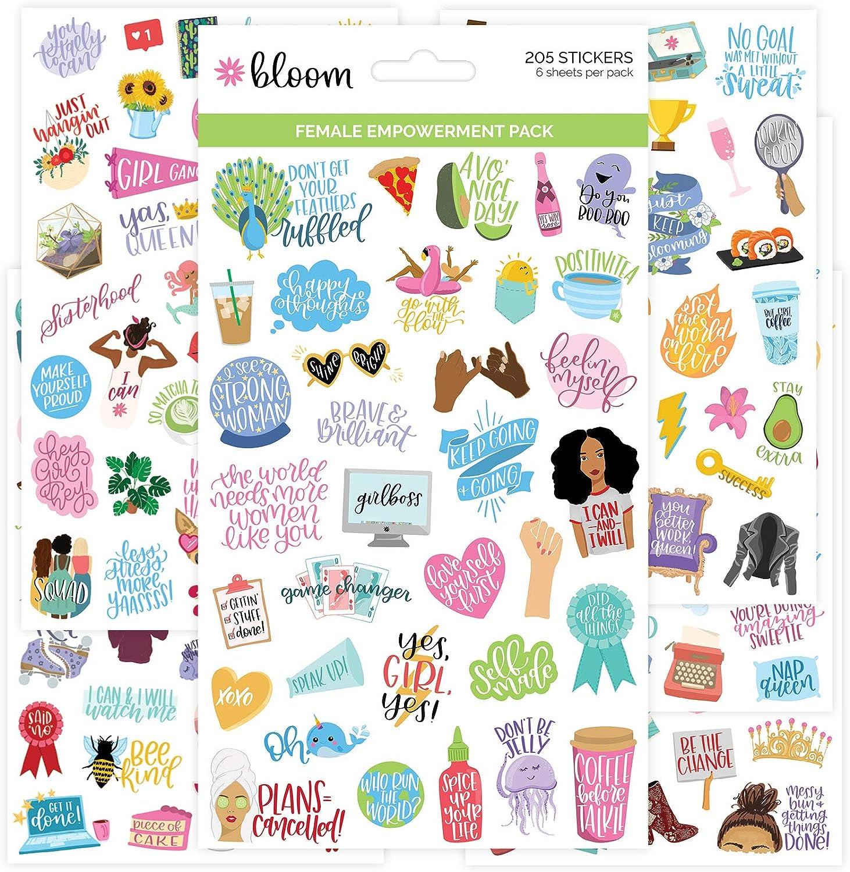 Journal Stickers Waterproof Stickers Organization 3 Sheet Planner Sticker Pack School