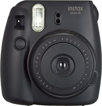 Amazon.com: Fujifilm Instax Mini 8 Instant Film Camera (Black ...