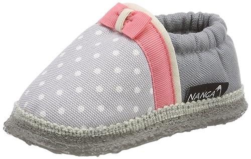 Nanga MIA, Mocasines para Bebés Que Gatean Unisex bebé, (Hellgrau), EU: Amazon.es: Zapatos y complementos