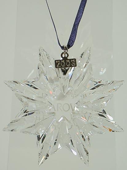 Swarovski Weihnachtsstern 2003 ornament christmas 622498 AP 2003 - Amazon.com: Swarovski Weihnachtsstern 2003 Ornament Christmas 622498