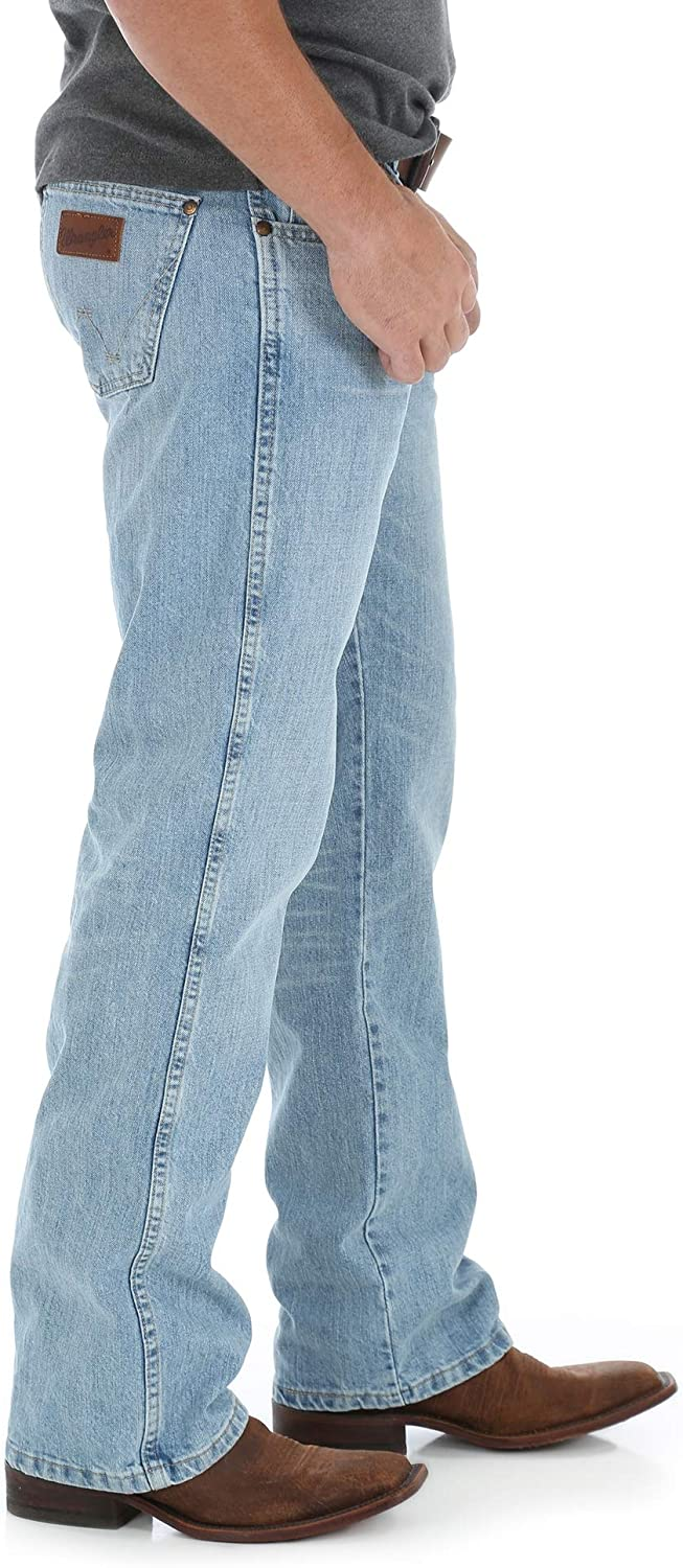 Wrangler Mens Retro Relaxed Fit Boot Cut Jean