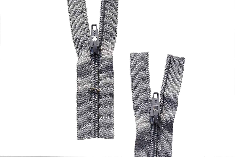 Reißverschluss Kopfkissen Bettwäsche schließbare Länge 180 cm weiß
