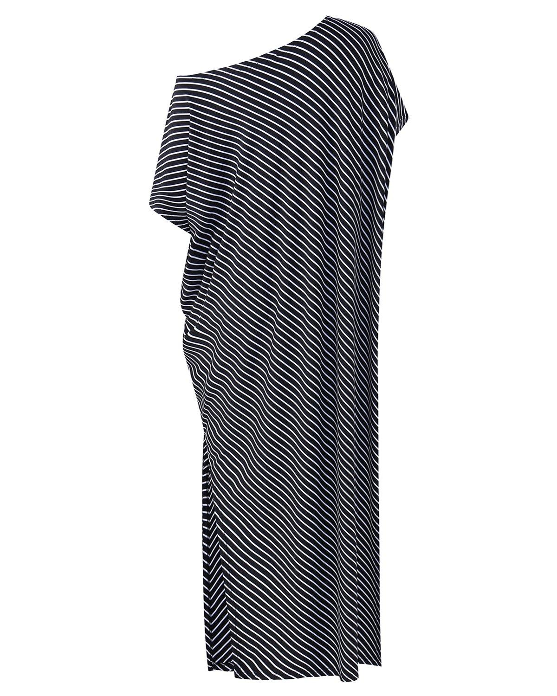 ef8eddb714 Kidsform Women Maxi Dress Striped Long Dresses Casual Loose Kaftan  Oversized Round Neck Sundress Black 2XL < Categories < Sports & Outdoors -  tibs