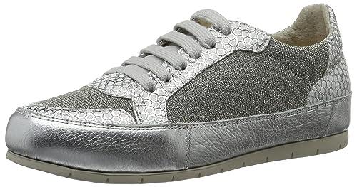 MANASDelfi - Zapatillas Mujer, Color Plateado, Talla 39: Amazon.es: Zapatos y complementos