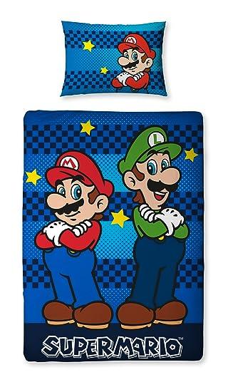 Character World Nintendo Super Mario Brothers Wende Bettwäsche