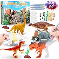 Emury Kids Crafts and Arts Set- Dinosaur Painting Kit,Dinosaur toys art and Craft party Favors for boy and girls age for 3 4 5 6 7 8 Year Old Boys kids .DIY Gifts Easter and chrismas gifts