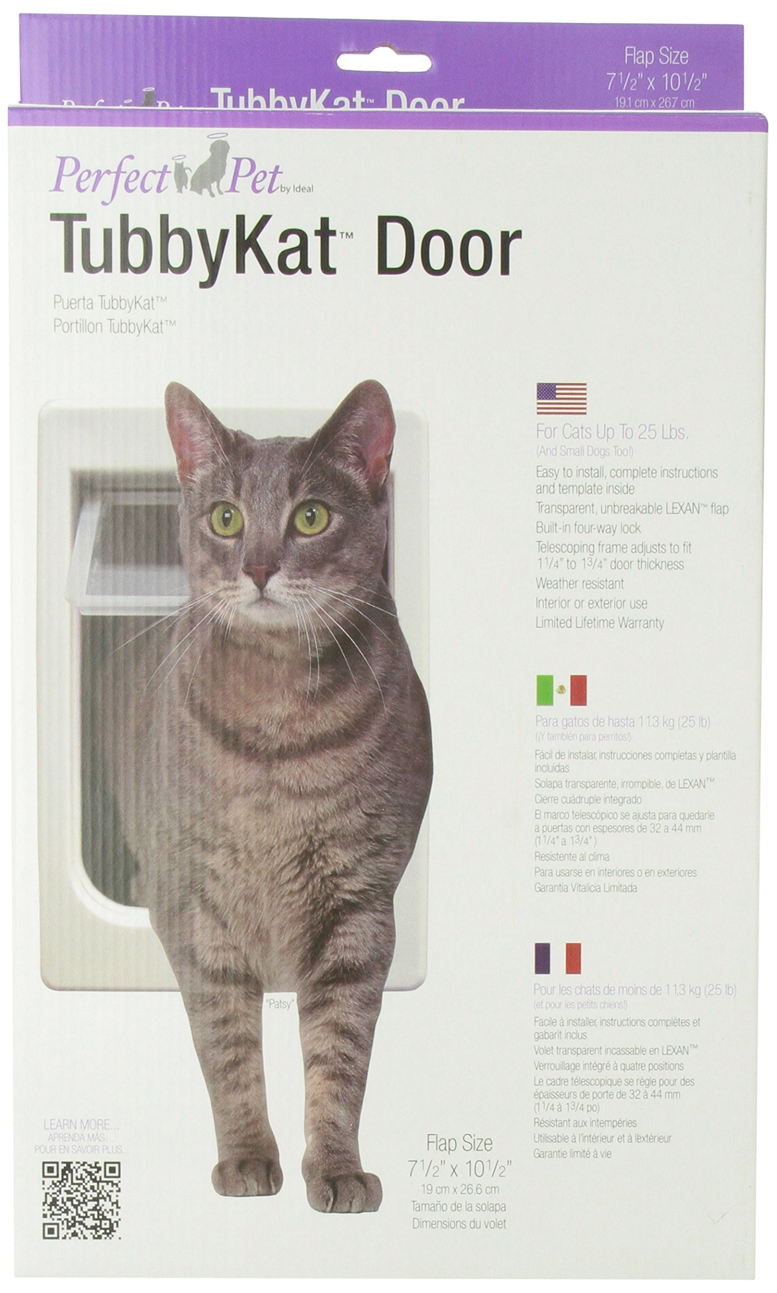 Perfect Pet Tubby-Kat Cat Door product image