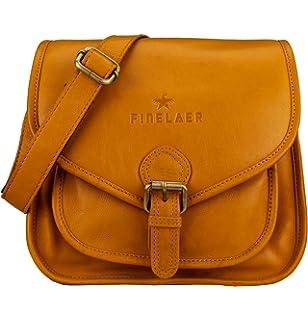0de66a3061fe Floto Women s Saddle Bag in Brown Italian Calfskin Leather - handbag  shoulder bag.  79.00 · Finelaer Women Vintage Leather Saddle Crossbody Bag