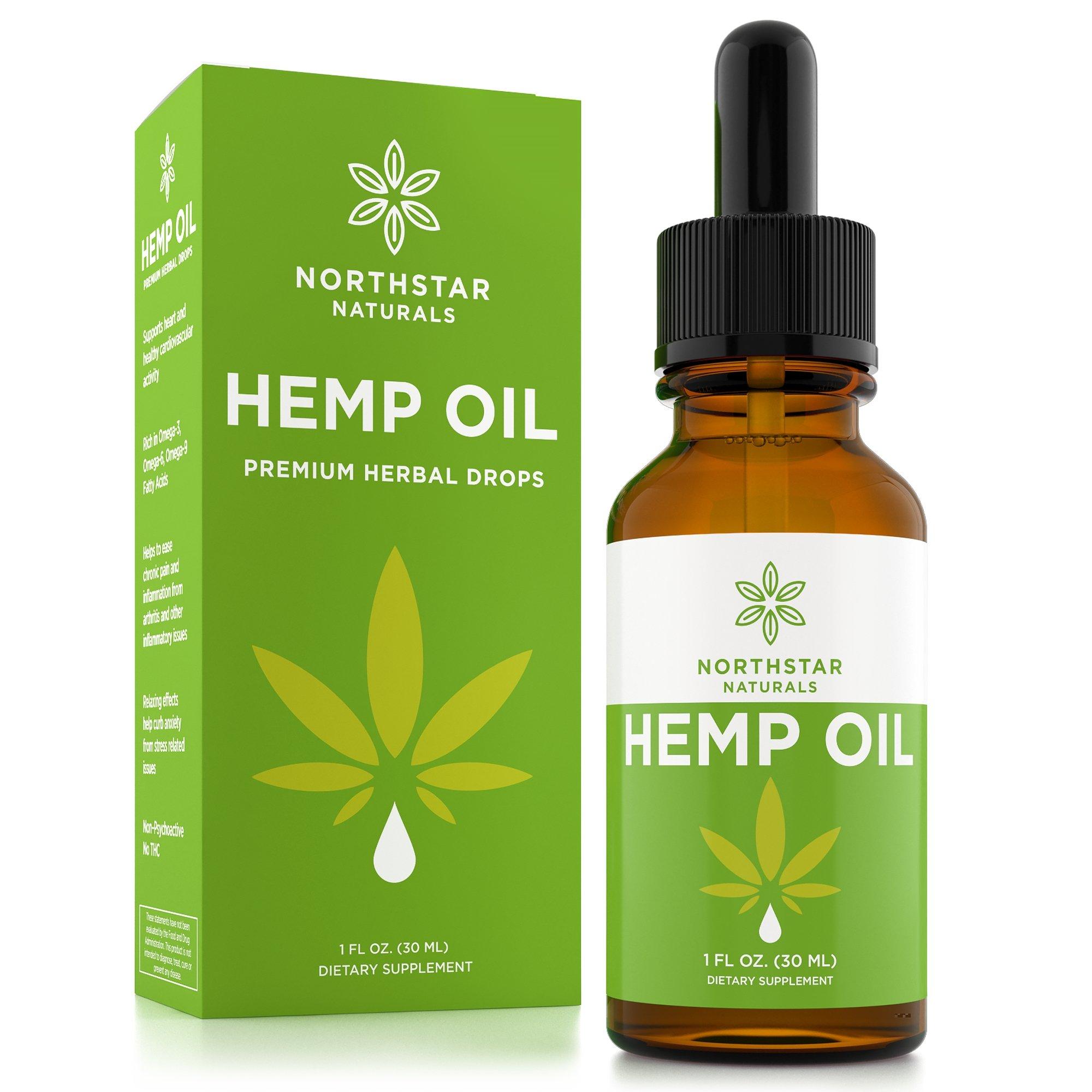 Hemp Oil for Pain & Anxiety Relief - 250mg Full Spectrum Organic Hemp Drops - Natural Hemp Oils for Better Sleep, Mood & Stress - Pure Hemp Extract - Zero THC CBD Cannabidiol - Mint Flavor