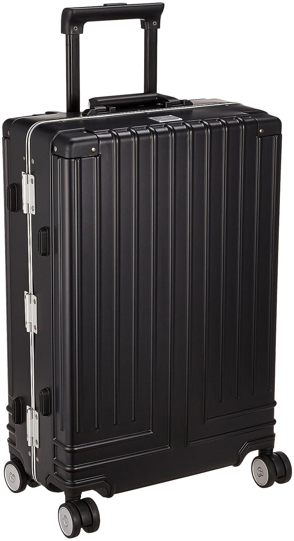 [ランバンオンブルー] スーツケース キャリーバッグ ヴィラージュ 42L 56cm 3.9kg 595312  ブラック B07C5FFB4G