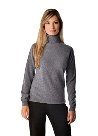 c310b36e4854 Women s Pure Cashmere Turtle Neck Sweater at Amazon Women s Clothing store