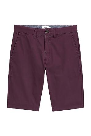 next Herren Lange Chino-Shorts Burgund EU 107 Lang (UK 42L)  Amazon ... 12e0e4d7da