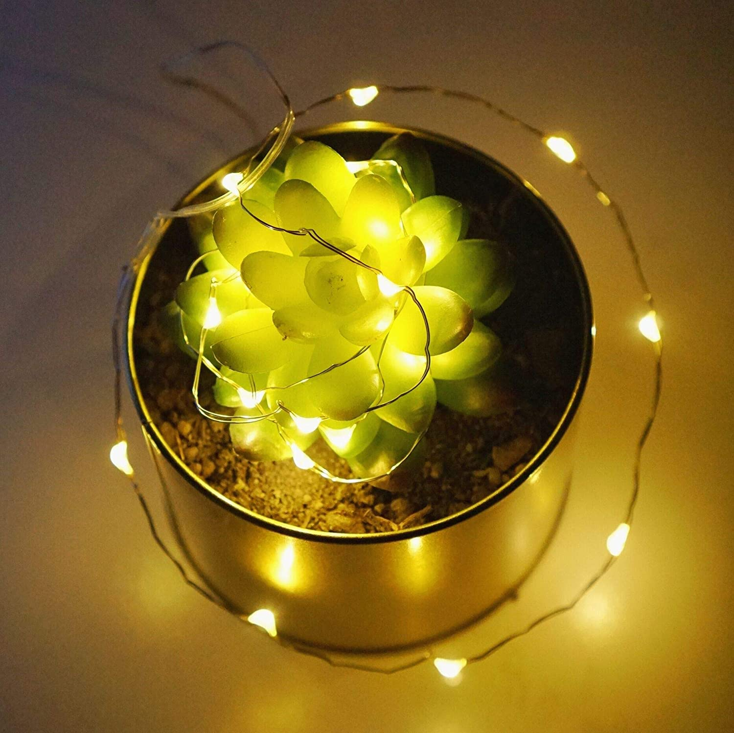 Wedding Indoor/& Outdoor Warm White 10 Pack 20 LED Starry Copper Wire String Lights Fairy Led String Lights Battery Operated for DIY Festivals Party