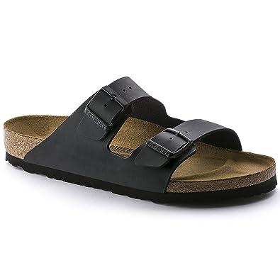 Birkenstock Arizona Damen Schwarz Folien Sandalen Schuhe Größe Neu EU 38