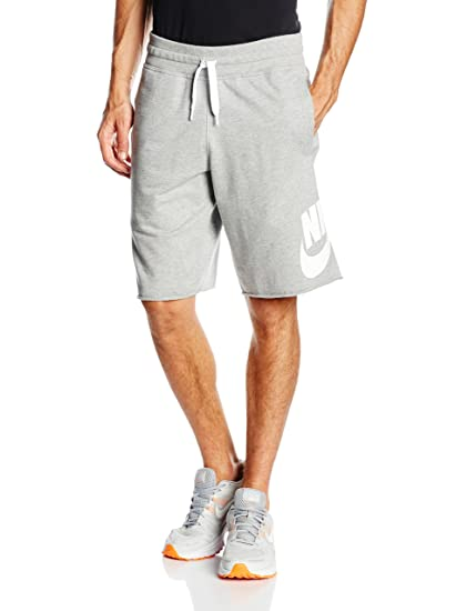 order online latest fashion best price Nike Mens Alumni Light Weight Solstice Shorts Dark Grey/White 728691-063  Size X-Large