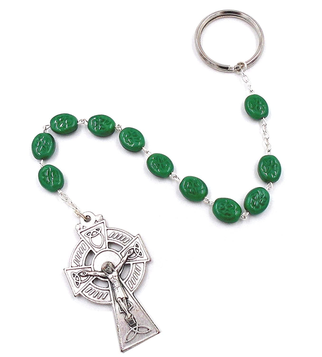 """Paidrin Beag"" Penal Rosary Keychain by J.C. Walsh & Sons- Made In Ireland"