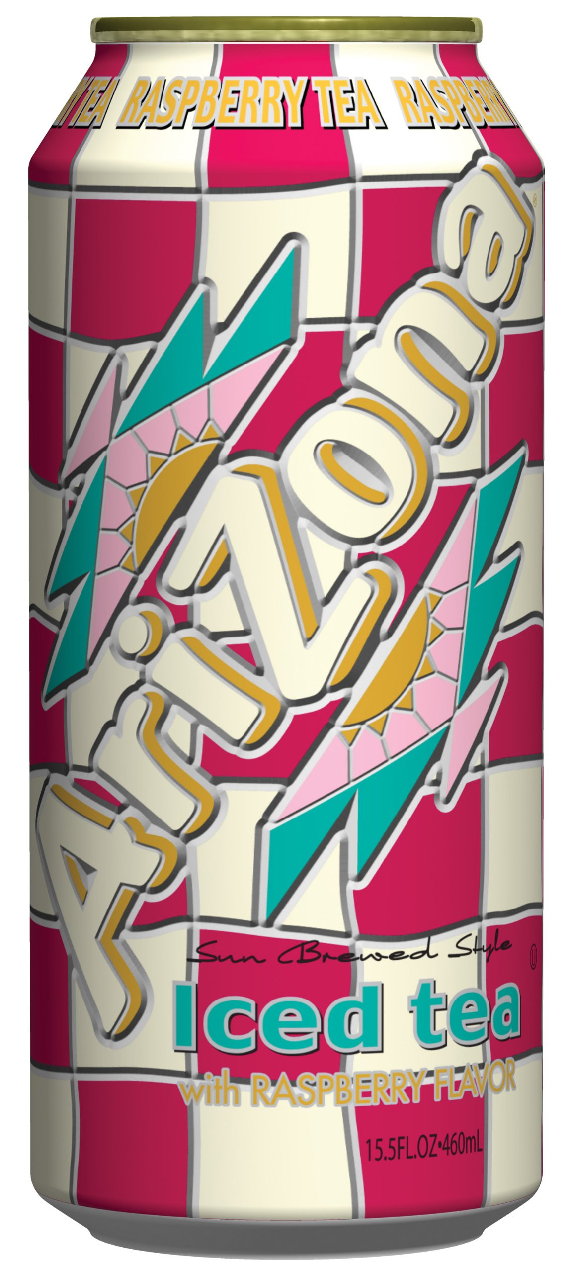 AriZona Iced Tea with Raspberry, 15.5 Ounce (Pack of 24) by AriZona